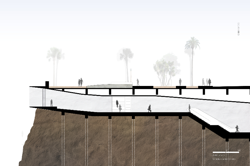 G:\Thesis\Final Drawings\Santa Monica\Site Section\site section